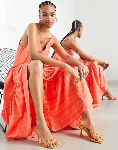 Tiered Cami Maxi Dress