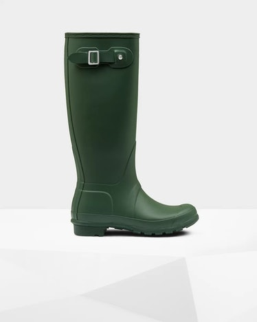 Original Tall Rain Boots: Hunter Green
