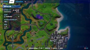 fortnite week 4 alien artifact location 3 map