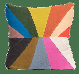 Inclusive Pride Rainbow Linen Pillow