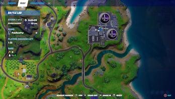 fortnite week 4 alien artifact location 5 map