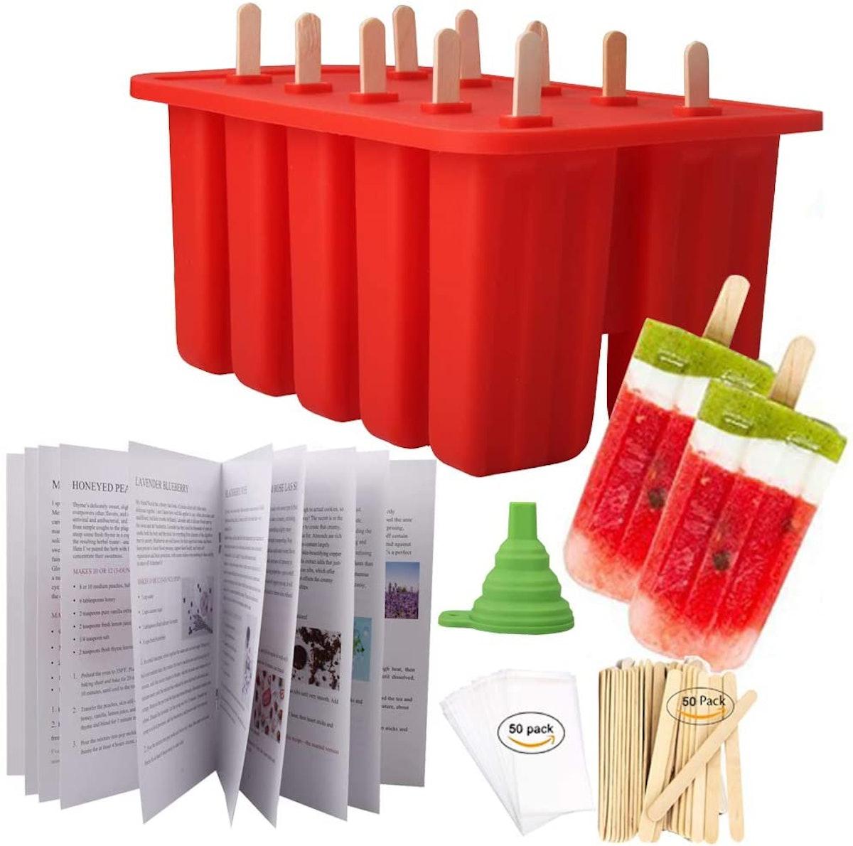 Homemade Popsicle Molds & Kit