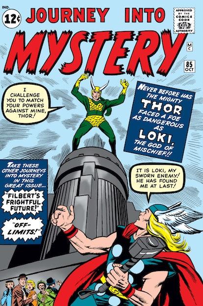 Loki debuted in the Marvel Comics nearly 60 years ago. Photo via Marvel