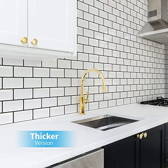 Art3d Subway Tiles Peel and Stick Backsplash