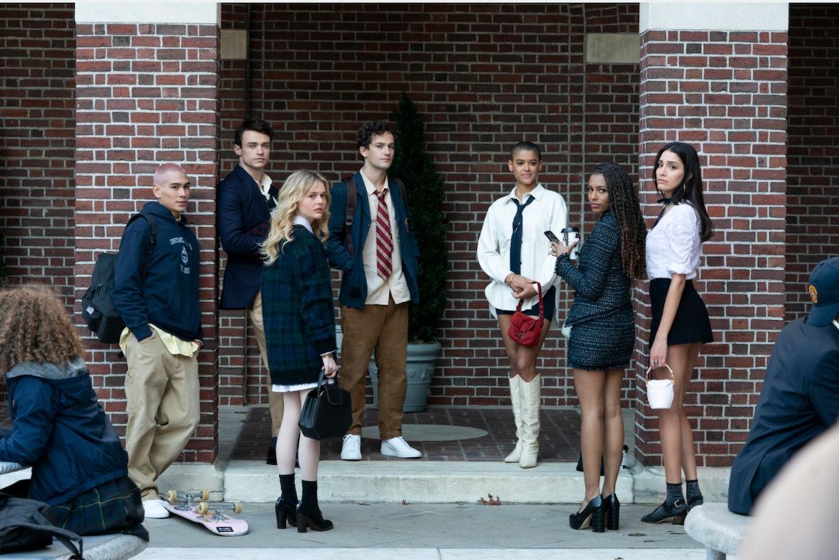 Cast of HBO Max's 'Gossip Girl' reboot in costume