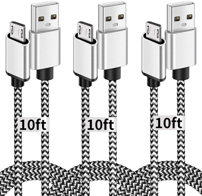 Deegotech Micro USB Cables (3 Pack)