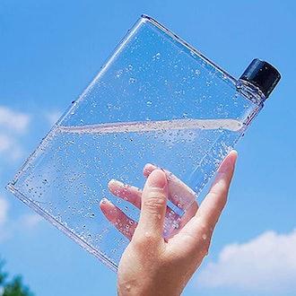 MosBug Clear Slim Water Bottle