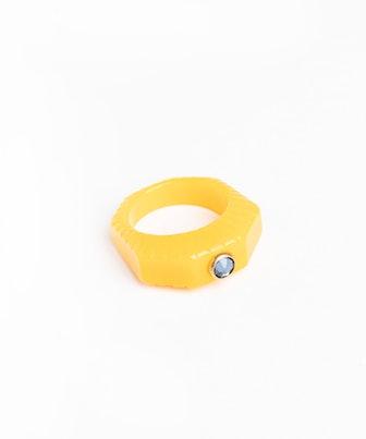 Shining Star Yellow Ring