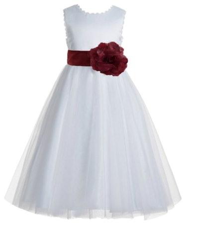 Red Sash Dress