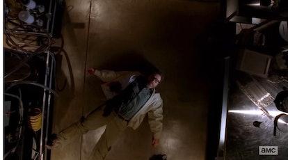 Bryan Cranston in the series finale of 'Breaking Bad.'