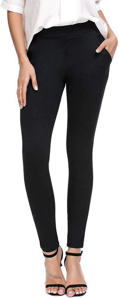 Bamans Skinny Leg Dress Pants