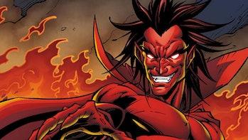Loki TVA Time Keepers Villain Mephisto Kang Miss Minutes