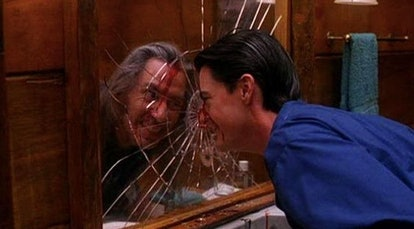 Frank Silva and Kyle MacLachlan in the 'Twin Peaks' series finale.