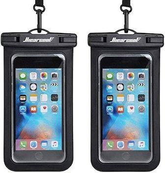 Hiearcool Universal Waterproof Phone Pouch (2-Pack)