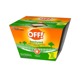 OFF! Citronella Scented Candle (2-Pack)