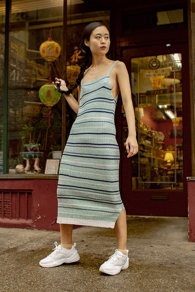 Linen Rib Dress