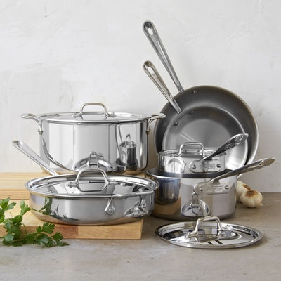 D3 Stainless Steel 10-Piece Set