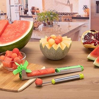 YIDADA Watermelon Windmill Cutter Slicer