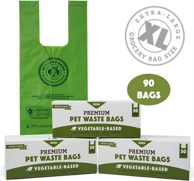 Doggy Do Good Biodegradable Dog Poop Bags (90 Count)