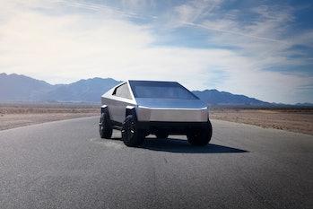 Tesla's upcoming Cybertruck.