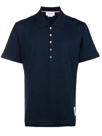Thom Browne Button Polo