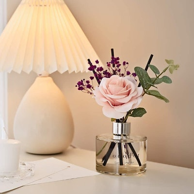 Cocodor Rose Flower Reed Diffuser