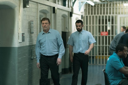 Jack McMullen and Sean Bean in 'Time' on BBC One