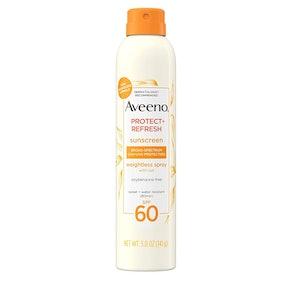 Aveeno Protect + Refresh Body Sunscreen Spray Mist