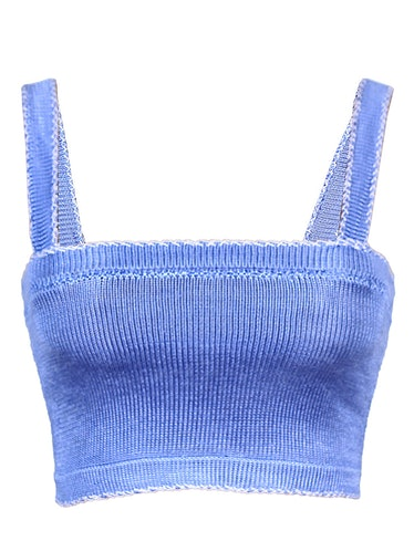 Handmade Knit Crop Top