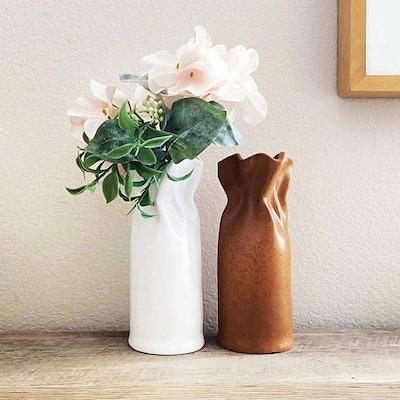 Vera KLINT Ceramic Flower Vase Set (Set of 2)