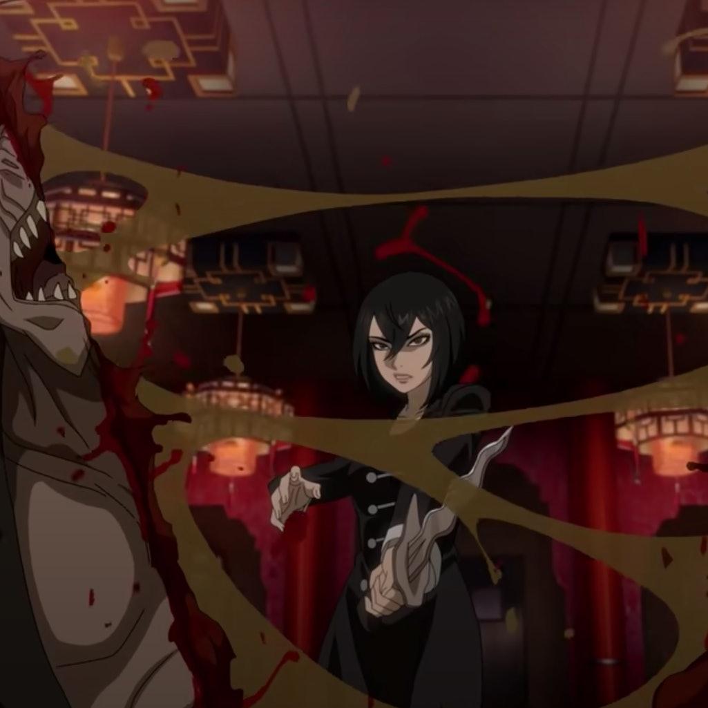 A scene from Netflix's Trese anime series. Photo via Netflix/YouTube