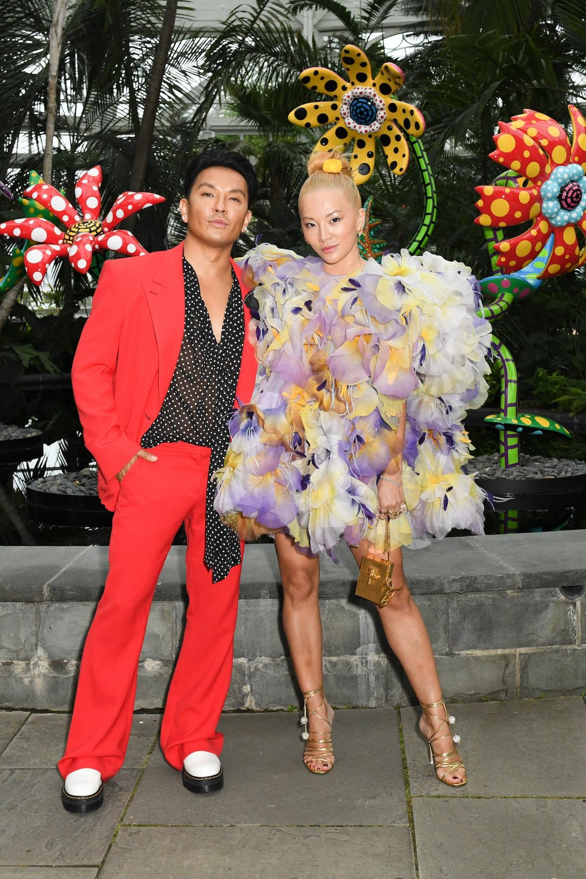 Prabal Gurung and Tina Leung