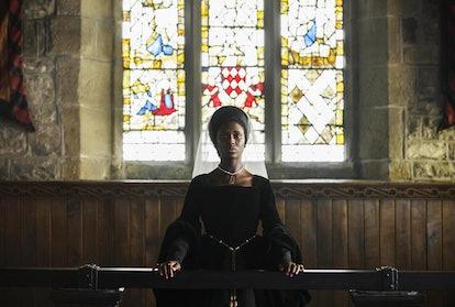 Anne Boleyn (Played by Jodie Turner-Smith)