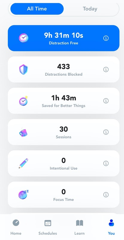 A review of weekly use of Opal app for iPhone.
