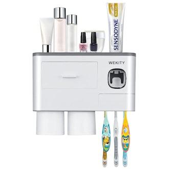 Wekity Mounted Toothbrush Holder