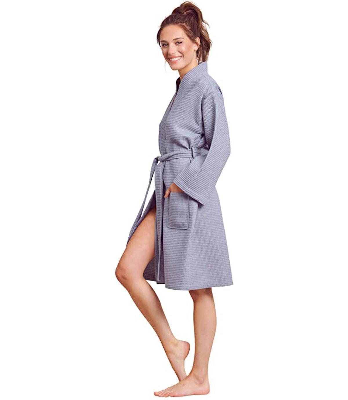 Soft Touch Linen Lightweight Robe