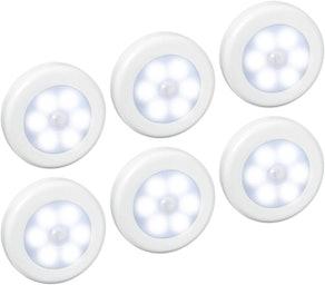 AMIR Motion Sensor Lights (6-Pack)