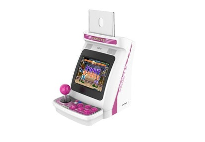 The Egret Mini II miniature arcade cabinet from Taito. Video games. Gaming. Game consoles. Retro gaming.