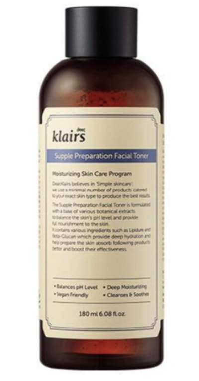 Klairs Supple Preparation Facial Toner (6 Oz)
