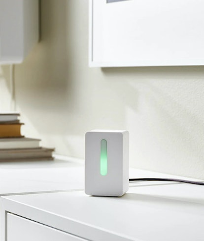 Ikea's Vintrikning air sensor. Home goods. Furniture. Purifier.