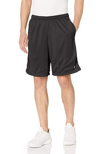 Champion Men's Long Mesh Shorts