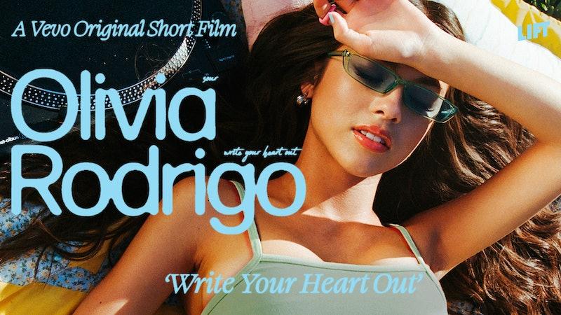 "Olivia Rodrigo stars in Vevo's short film ""Write Your Heart Out"""