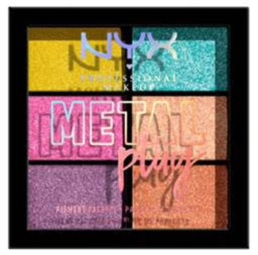 NYX Professional Makeup Metal Play Palette