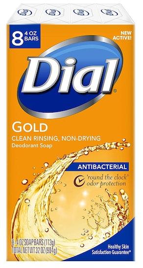 Dial Antibacterial Bar Soap (Pack of 8)