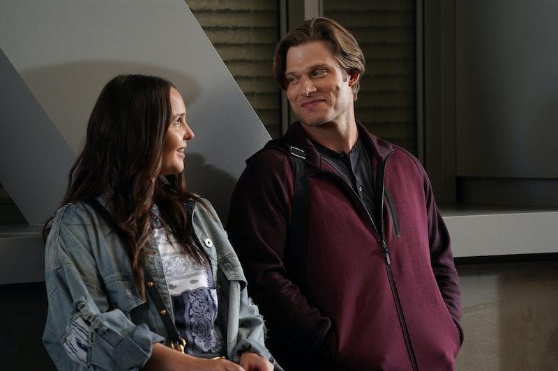 Jo and Link on Grey's Anatomy via the ABC press site