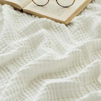 EMME Muslin Cotton Throw Blanket