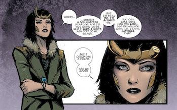 Meet Lady Loki.