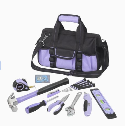 23-Piece Household Tool Set with Soft Case
