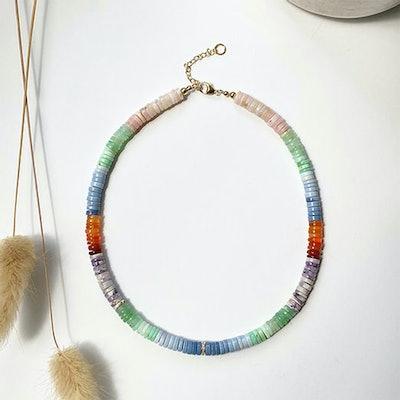 Julia Aeran Heishi Necklace