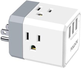 POWSAV Multi Plug Outlet Cube